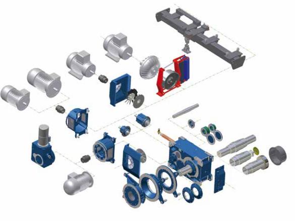 Modular Industrial Gear Units